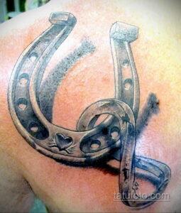 Фото рисунока тату с подковой 22.07.2021 №072 - drawing tattoo horseshoe - tatufoto.com