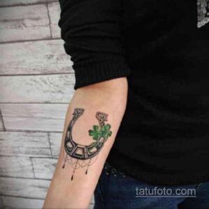 Фото рисунока тату с подковой 22.07.2021 №076 - drawing tattoo horseshoe - tatufoto.com
