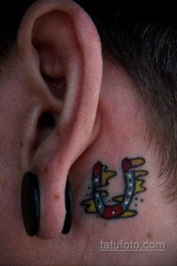 Фото рисунока тату с подковой 22.07.2021 №078 - drawing tattoo horseshoe - tatufoto.com