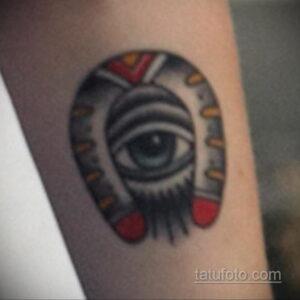 Фото рисунока тату с подковой 22.07.2021 №089 - drawing tattoo horseshoe - tatufoto.com