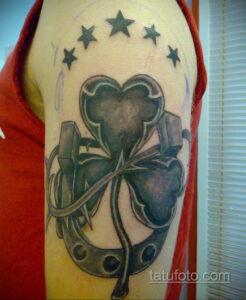 Фото рисунока тату с подковой 22.07.2021 №119 - drawing tattoo horseshoe - tatufoto.com