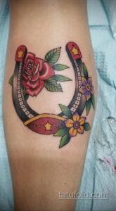 Фото рисунока тату с подковой 22.07.2021 №120 - drawing tattoo horseshoe - tatufoto.com
