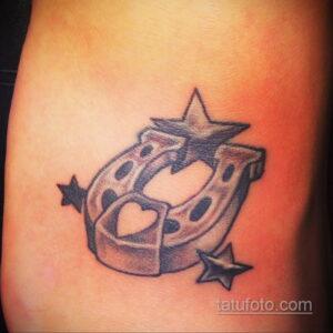 Фото рисунока тату с подковой 22.07.2021 №127 - drawing tattoo horseshoe - tatufoto.com