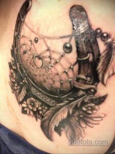 Фото рисунока тату с подковой 22.07.2021 №136 - drawing tattoo horseshoe - tatufoto.com