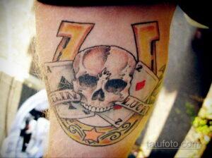 Фото рисунока тату с подковой 22.07.2021 №157 - drawing tattoo horseshoe - tatufoto.com