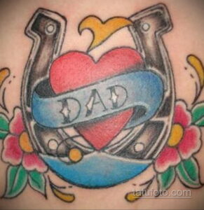 Фото рисунока тату с подковой 22.07.2021 №161 - drawing tattoo horseshoe - tatufoto.com