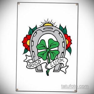 Фото рисунока тату с подковой 22.07.2021 №172 - drawing tattoo horseshoe - tatufoto.com