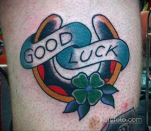Фото рисунока тату с подковой 22.07.2021 №173 - drawing tattoo horseshoe - tatufoto.com
