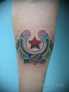 Фото рисунока тату с подковой 22.07.2021 №195 - drawing tattoo horseshoe - tatufoto.com