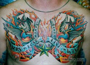 Фото рисунока тату с подковой 22.07.2021 №204 - drawing tattoo horseshoe - tatufoto.com