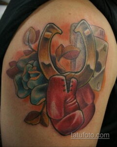 Фото рисунока тату с подковой 22.07.2021 №235 - drawing tattoo horseshoe - tatufoto.com
