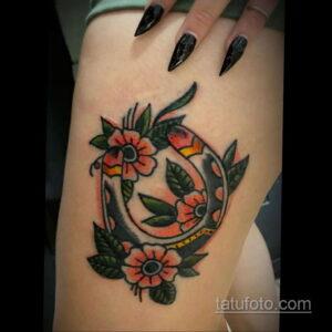 Фото рисунока тату с подковой 22.07.2021 №236 - drawing tattoo horseshoe - tatufoto.com