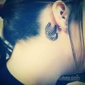 Фото рисунока тату с подковой 22.07.2021 №244 - drawing tattoo horseshoe - tatufoto.com