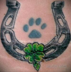 Фото рисунока тату с подковой 22.07.2021 №251 - drawing tattoo horseshoe - tatufoto.com
