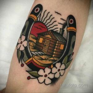 Фото рисунока тату с подковой 22.07.2021 №262 - drawing tattoo horseshoe - tatufoto.com