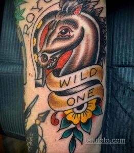 Фото рисунока тату с подковой 22.07.2021 №279 - drawing tattoo horseshoe - tatufoto.com