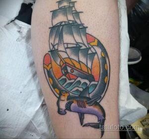 Фото рисунока тату с подковой 22.07.2021 №280 - drawing tattoo horseshoe - tatufoto.com