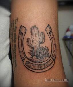 Фото рисунока тату с подковой 22.07.2021 №285 - drawing tattoo horseshoe - tatufoto.com