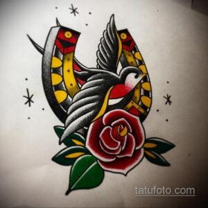Фото рисунока тату с подковой 22.07.2021 №321 - drawing tattoo horseshoe - tatufoto.com