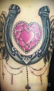 Фото рисунока тату с подковой 22.07.2021 №349 - drawing tattoo horseshoe - tatufoto.com