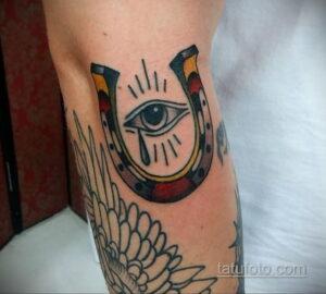 Фото рисунока тату с подковой 22.07.2021 №353 - drawing tattoo horseshoe - tatufoto.com