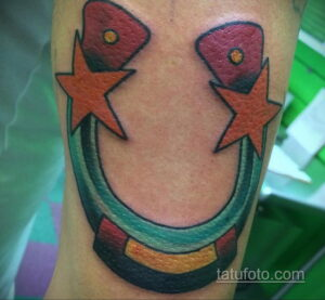 Фото рисунока тату с подковой 22.07.2021 №358 - drawing tattoo horseshoe - tatufoto.com