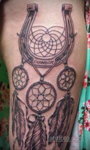 Фото рисунока тату с подковой 22.07.2021 №360 - drawing tattoo horseshoe - tatufoto.com