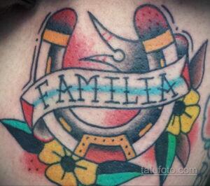 Фото рисунока тату с подковой 22.07.2021 №361 - drawing tattoo horseshoe - tatufoto.com
