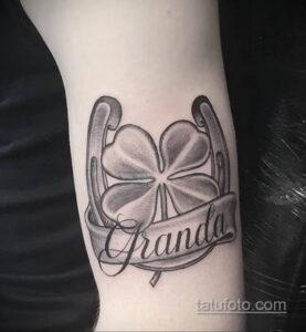 Фото рисунока тату с подковой 22.07.2021 №414 - drawing tattoo horseshoe - tatufoto.com