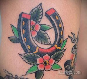 Фото рисунока тату с подковой 22.07.2021 №416 - drawing tattoo horseshoe - tatufoto.com