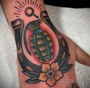 Фото рисунока тату с подковой 22.07.2021 №433 - drawing tattoo horseshoe - tatufoto.com