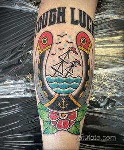 Фото рисунока тату с подковой 22.07.2021 №440 - drawing tattoo horseshoe - tatufoto.com