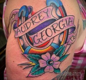 Фото рисунока тату с подковой 22.07.2021 №449 - drawing tattoo horseshoe - tatufoto.com