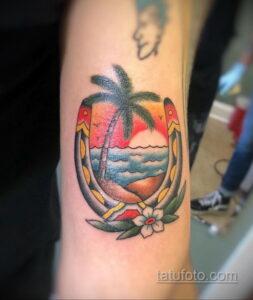 Фото рисунока тату с подковой 22.07.2021 №452 - drawing tattoo horseshoe - tatufoto.com