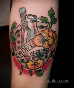 Фото рисунока тату с подковой 22.07.2021 №454 - drawing tattoo horseshoe - tatufoto.com