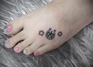 Фото рисунока тату с подковой 22.07.2021 №459 - drawing tattoo horseshoe - tatufoto.com