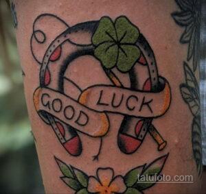 Фото рисунока тату с подковой 22.07.2021 №464 - drawing tattoo horseshoe - tatufoto.com