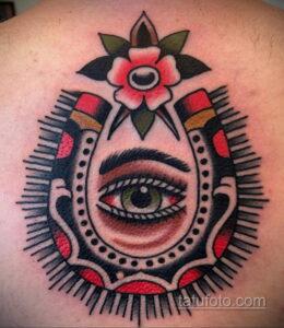 Фото рисунока тату с подковой 22.07.2021 №499 - drawing tattoo horseshoe - tatufoto.com