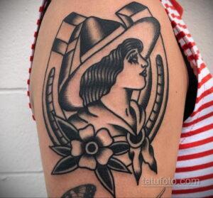 Фото рисунока тату с подковой 22.07.2021 №508 - drawing tattoo horseshoe - tatufoto.com