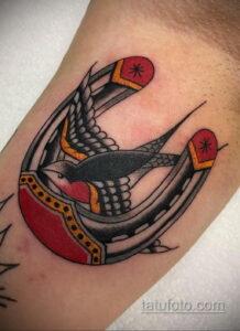 Фото рисунока тату с подковой 22.07.2021 №518 - drawing tattoo horseshoe - tatufoto.com