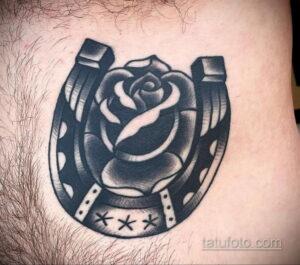 Фото рисунока тату с подковой 22.07.2021 №524 - drawing tattoo horseshoe - tatufoto.com