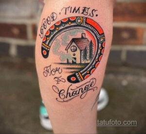 Фото рисунока тату с подковой 22.07.2021 №525 - drawing tattoo horseshoe - tatufoto.com