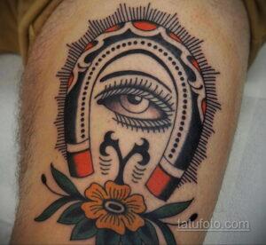 Фото рисунока тату с подковой 22.07.2021 №526 - drawing tattoo horseshoe - tatufoto.com