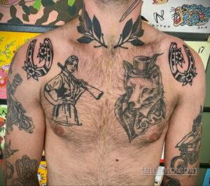 Фото рисунока тату с подковой 22.07.2021 №530 - drawing tattoo horseshoe - tatufoto.com