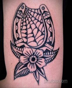 Фото рисунока тату с подковой 22.07.2021 №537 - drawing tattoo horseshoe - tatufoto.com