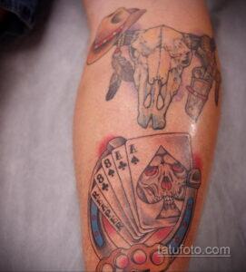 Фото рисунока тату с подковой 22.07.2021 №577 - drawing tattoo horseshoe - tatufoto.com