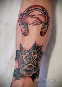 Фото рисунока тату с подковой 22.07.2021 №578 - drawing tattoo horseshoe - tatufoto.com