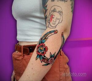 Фото рисунока тату с подковой 22.07.2021 №594 - drawing tattoo horseshoe - tatufoto.com