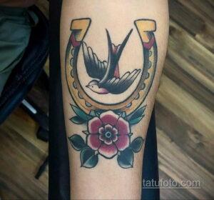 Фото рисунока тату с подковой 22.07.2021 №608 - drawing tattoo horseshoe - tatufoto.com