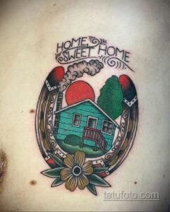 Фото рисунока тату с подковой 22.07.2021 №615 - drawing tattoo horseshoe - tatufoto.com